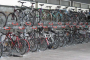 steel rack for cycle shop